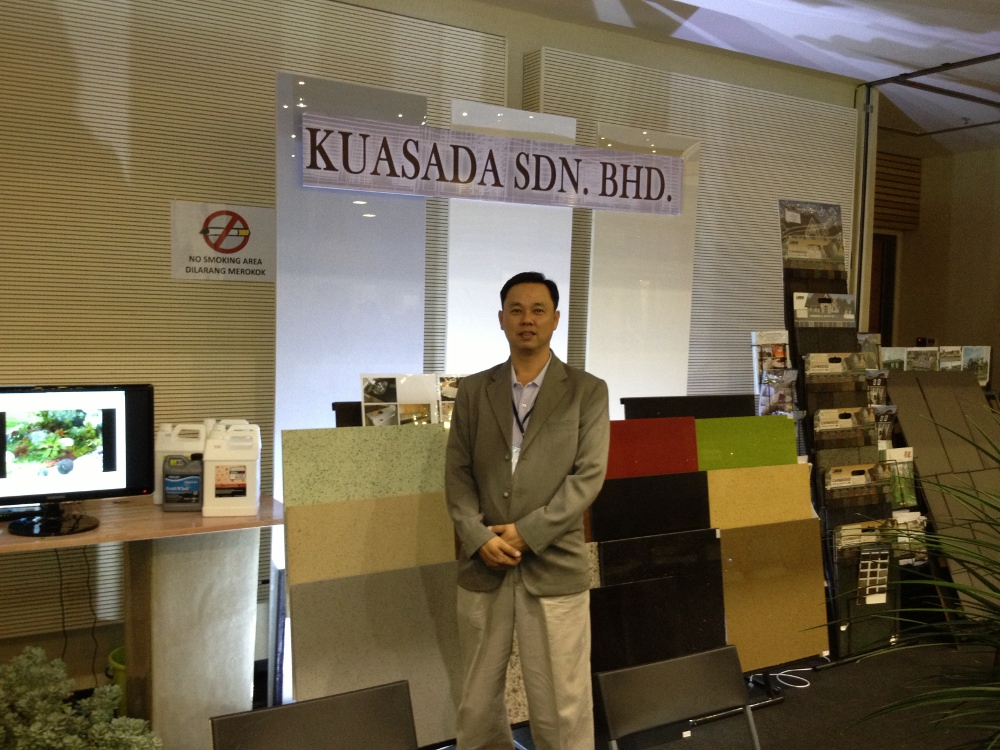 Recent involvement in the Building Trade Show Held in Kuching Malaysia